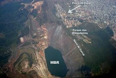 Resultado de imagem para serra do curral mineração