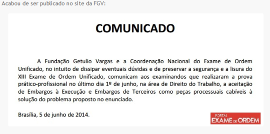 FGV Trabalho