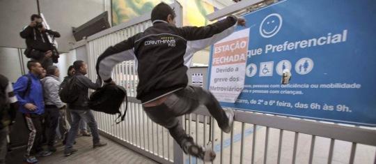 Greve do Metro em SP