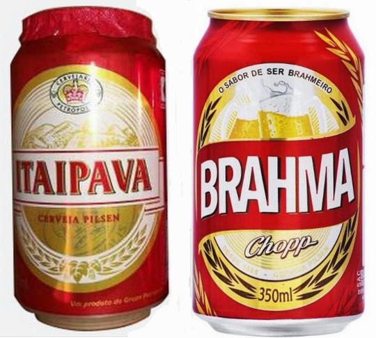 Itaipava vence Brahma e pode usar lata vermelha