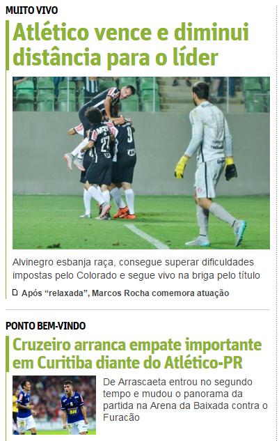 Galo e Cruzeiro 2
