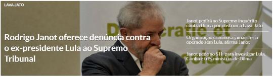 Lula denunciado